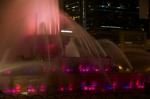 Buckingham Fountain Zoom Purple